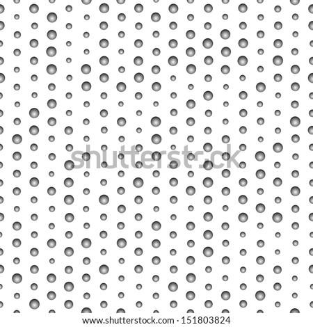 Black and white seamless pattern. Vector illustration. EPS10. - stock vector