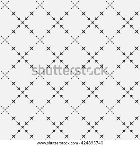 black and white seamless pattern.  vintage stylish texture, can be used for wallpaper, web page background