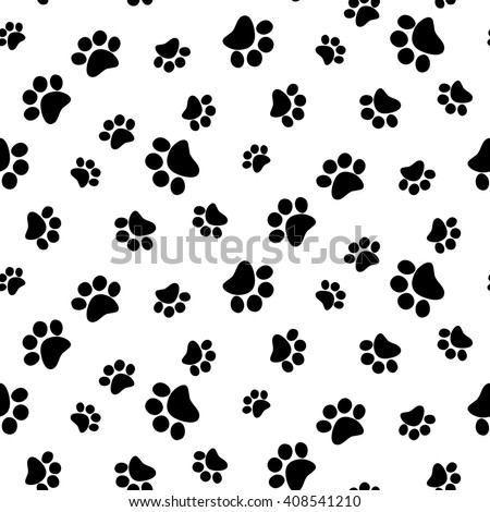 Animal foot prints patterns - photo#4