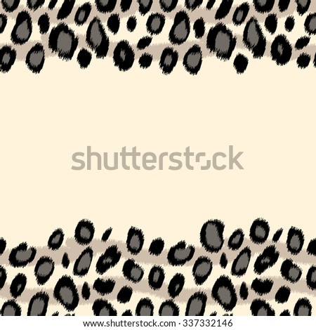 black white snow leopard skin animal stock vector 337332146 rh shutterstock com leopard print vector svg leopard print vector free download