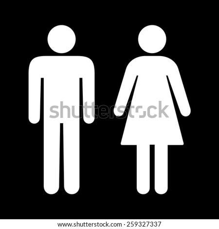 Bathroom Signs Holding Hands restroom sign stock images, royalty-free images & vectors