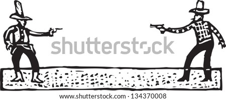 Cowboy Duel Stock Images, Royalty-Free Images & Vectors | Shutterstock