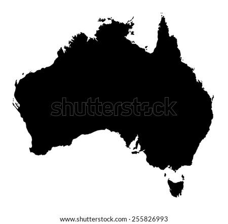 Australia Map Stock Images RoyaltyFree Images Vectors - Austrailia map