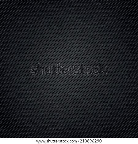 Black background pattern with diagonal stripes - stock vector
