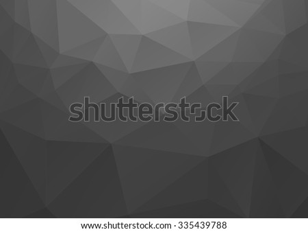 Black Background, Polygon