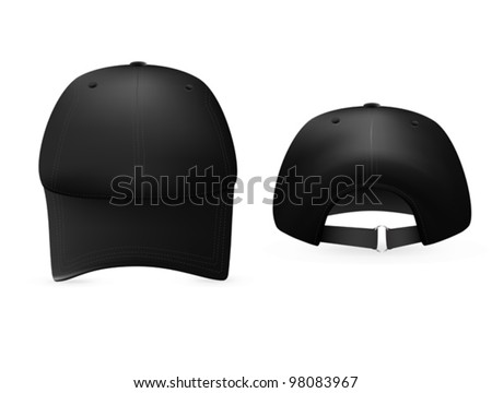 baseball cap template stock images, royalty-free images & vectors