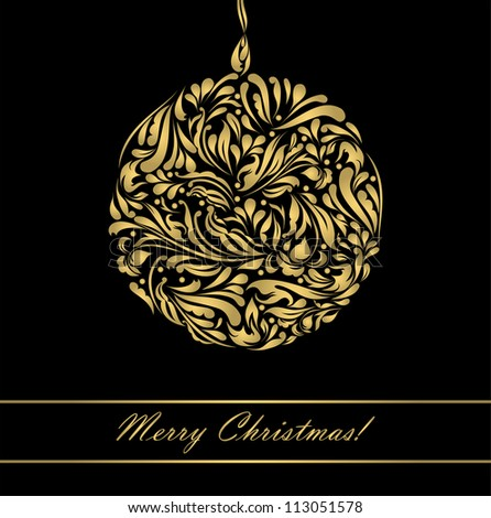 Black beautiful vintage swirl abstract gold card vector eps 8 for brochure, wallpaper, background, backdrop, banner, border, emblem, label, invitation, postcard greeting, wedding card, illustration