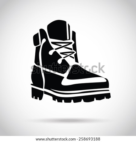 Hiking Boots Stock Images Royalty-Free Images U0026 Vectors   Shutterstock