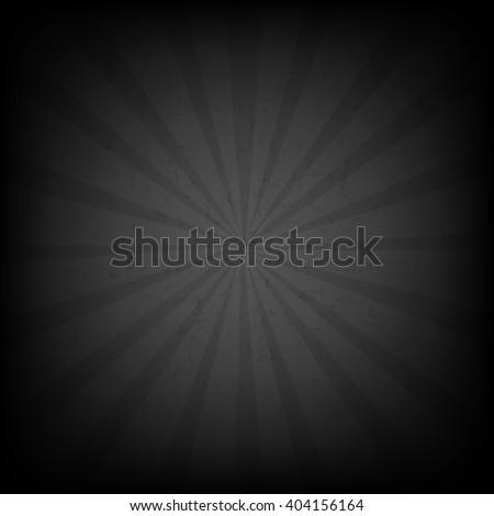Black Burst Grunge Background With Gradient Mesh, Vector Illustration - stock vector