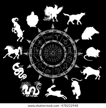 2008 Year Of Rat Vector Set Royalty Free Stock Image Image