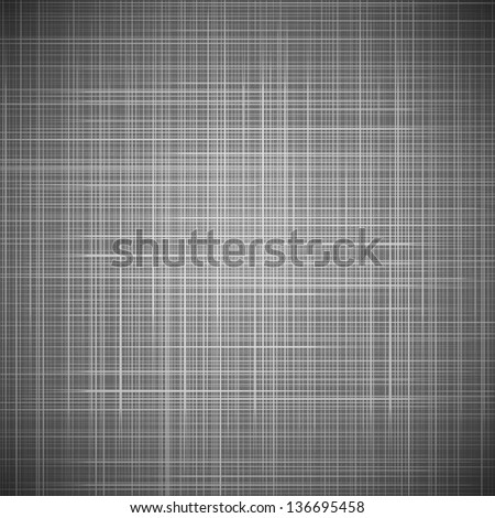Black fabric texture. Vector illustration for your stylish elegant design. Universal dark background. Realistic effect. Modest cover for book, web page background. Pure strict style. - stock vector
