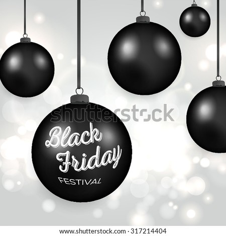 Black Friday Calligraphic Designs. Poster Sale.Typography. Vector illustration. - stock vector