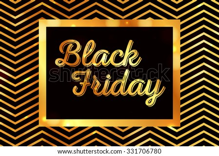 Black Friday Calligraphic Designs. Poster Sale.Typography.Vector illustration. Sale Tags for special offers and black Friday - stock vector