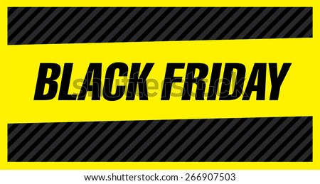 Black friday poster. Sale