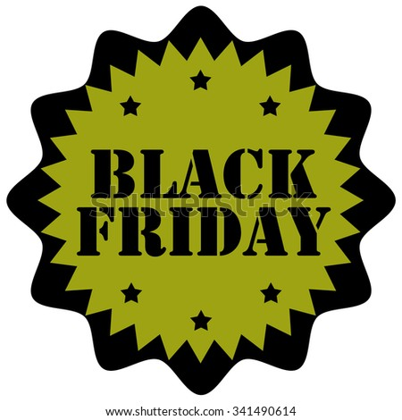 Black Friday rubber stamp,vector illustration - stock vector