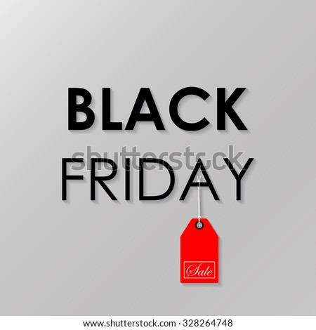 Black Friday sale - stock vector
