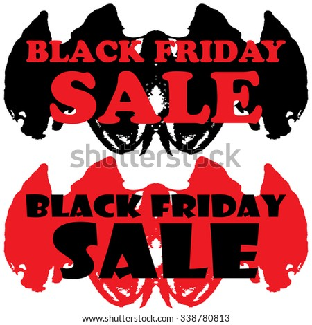 Black Friday Stickers,label or Sale icons. Discount Price tags or special offer symbol