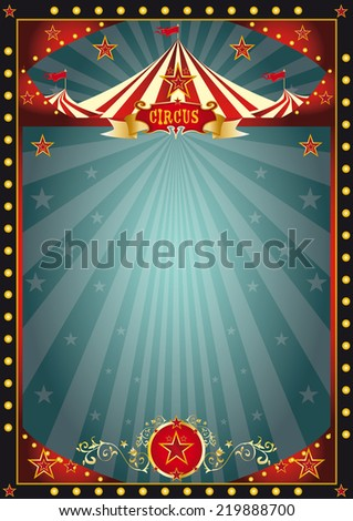 Black fun circus. A circus dark background for you - stock vector