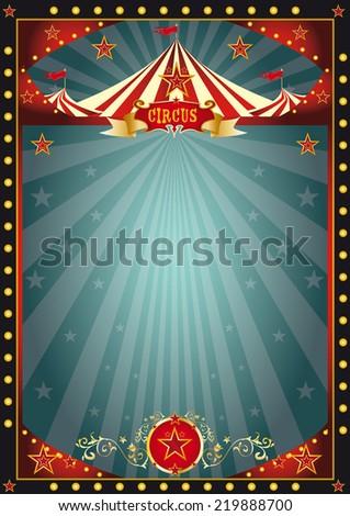 Black fun circus. A circus dark background for you - stock vector