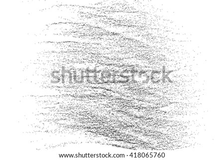Black grainy texture isolated on white background. Grunge design elements. Vector illustration,eps 10. - stock vector