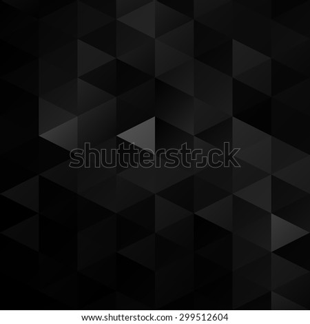 Black Grid Mosaic Background, Creative Design Templates - stock vector