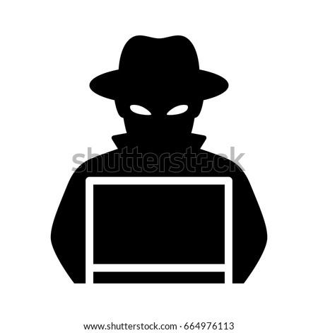 black hat hacker stock images royalty free images. Black Bedroom Furniture Sets. Home Design Ideas