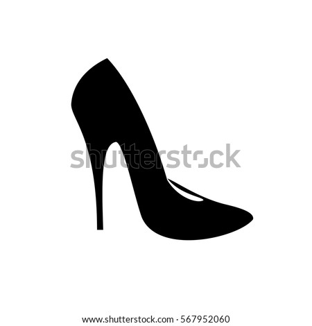 high heel shoes stock vector 257409691 - shutterstock