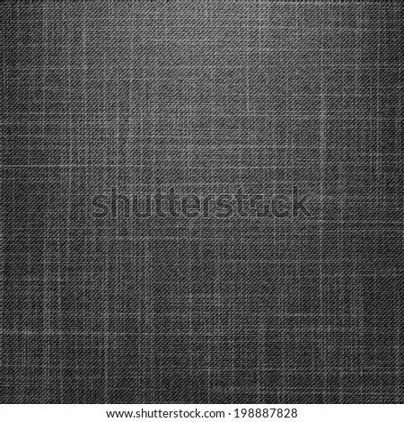 Black Jeans Texture - stock vector