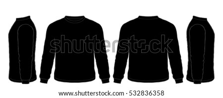 Long Sleeve Shirt Template Stock Images, Royalty-Free ...
