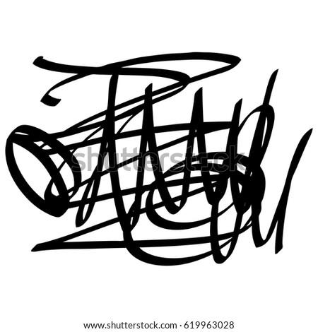 Pi Draw Circle Vector Illustration Stock Vector 204554083