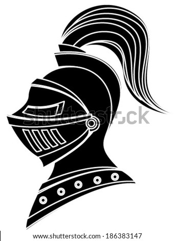 Knight Head In Helmet Stock Images, Royalty-Free Images ...