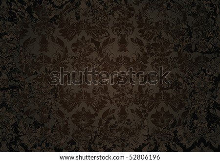 Black Old background, vector