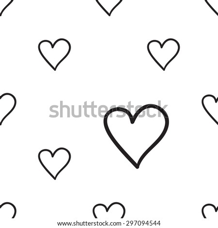 Hand Drawn Heart Outline
