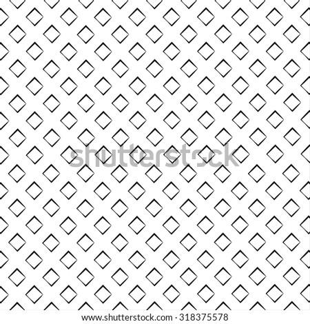 Black outline vector pattern on white background. - stock vector
