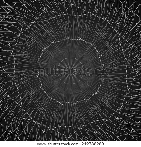 black pattern background. grey techno background. 10 eps - stock vector