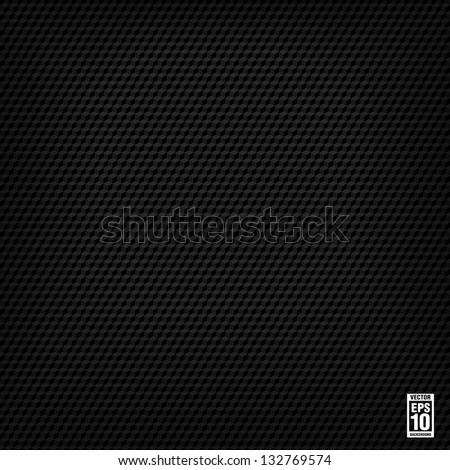 Black seamless cubic texture. Vector - stock vector