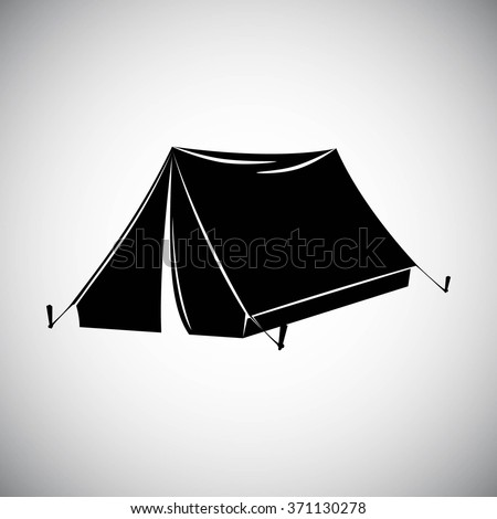 Image Gallery tent silhouette