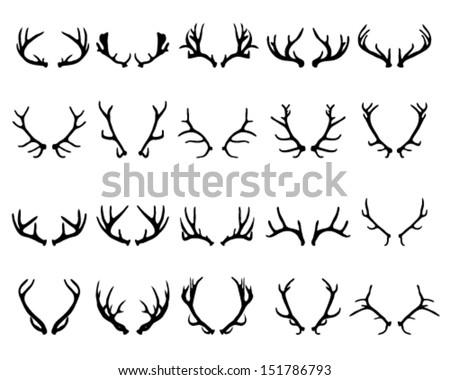 Moose moreover 24153 as well Duck Hunting Decal Sticker 02 36926344 as well Deer 05 Outline 112 together with Vector Buck Deer 4033966. on deer antler outline