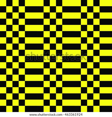 black strip pattern on yellow background