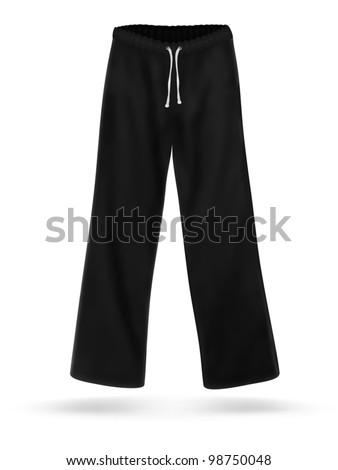 black sweatpants blank - photo #48