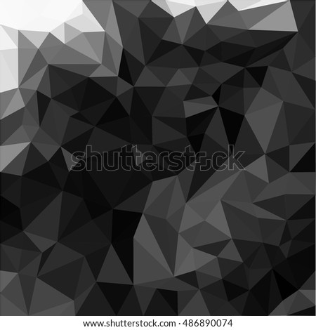 black triangles abstract background.