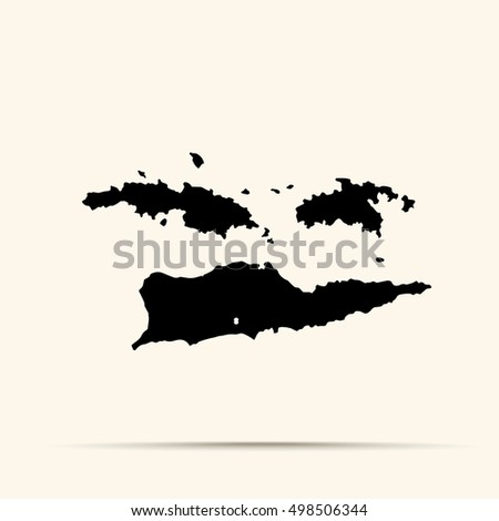 Virgin Islands Map Stock Images RoyaltyFree Images Vectors - Us virgin islands map outline