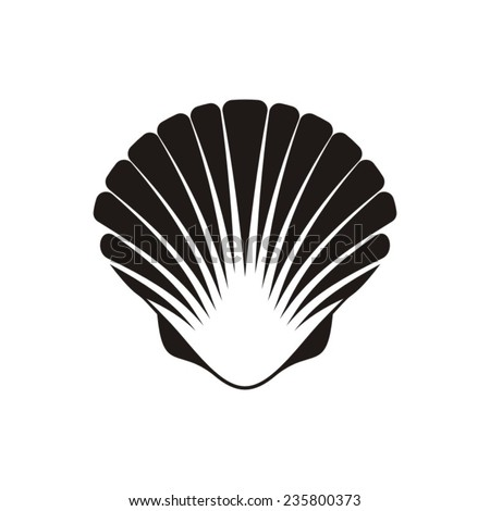 Scallop Shell Icon Stock Images, Royalty-Free Images ...