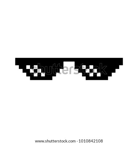 Thug stock images royalty free images vectors shutterstock black virtual reality glasses on a white background thug life voltagebd Images