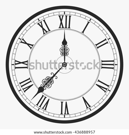 Clock Face Stock Images Royalty Free Images Amp Vectors