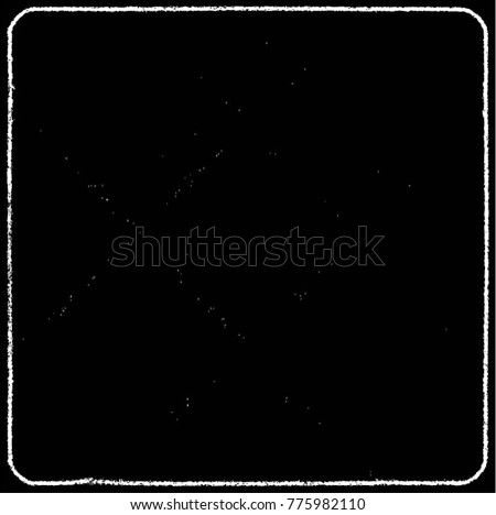 Black-White Grunge Vector Texture Background. Easy To Create Distressed, Scratched, Vintage Effect With Noise