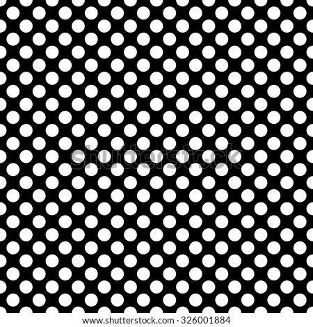 Black and white polka dot pattern - photo#26