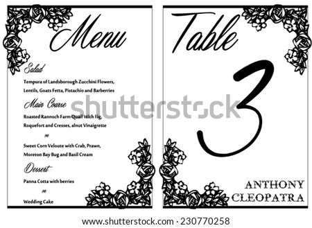 Black White Wedding Invitation Thank You Vector 230574076 – Black and White Invitation Cards