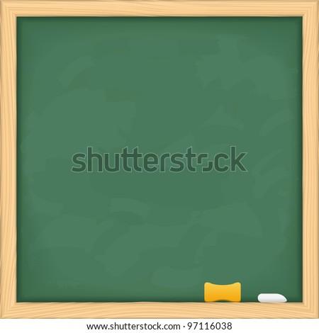 Blackboard, vector eps10 illustration - stock vector