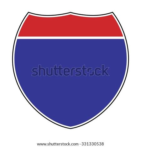 interstate sign stock images royaltyfree images